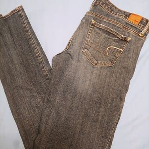 American eagle size 8 Long skinny jeans